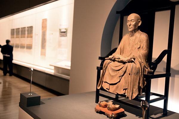 蘭渓道隆坐像|鎌倉時代 13世紀 神奈川・建長寺蔵