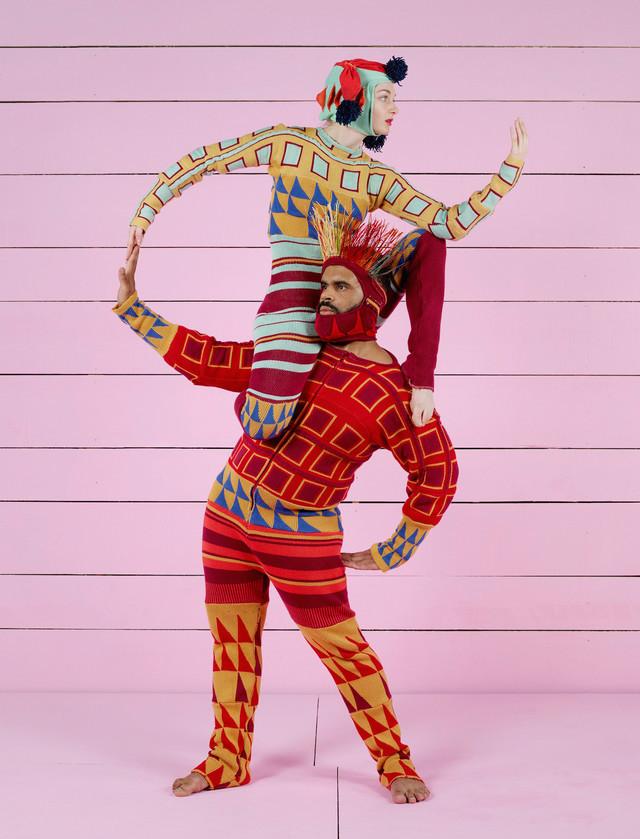 フィリップ・ドゥクフレ / カンパニーDCA「新作短編集(2017)-Nouvelles Pieces Courtes」ビジュアル(Photo:Charles Freger)