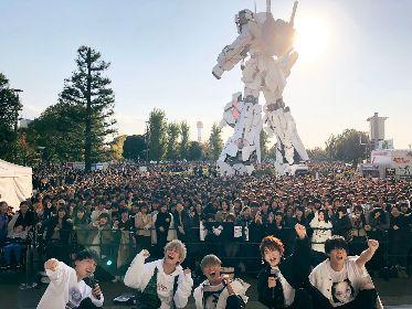 """Da-iCEの""""原点回帰""""フリーライブに5,000人が集結 新曲「BACK TO BACK」を初披露し、さらなる夢への決意も"""