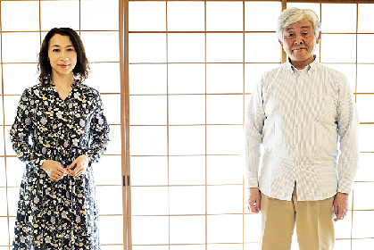同級生役で舞台初共演の柳家喬太郎と山崎美貴にインタビュー~東京タンバリン わのわ『さとうは甘い』