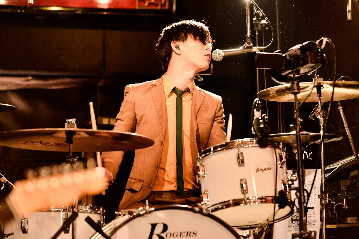 THE BAWDIES 撮影=橋本 塁(SOUND SHOOTER)