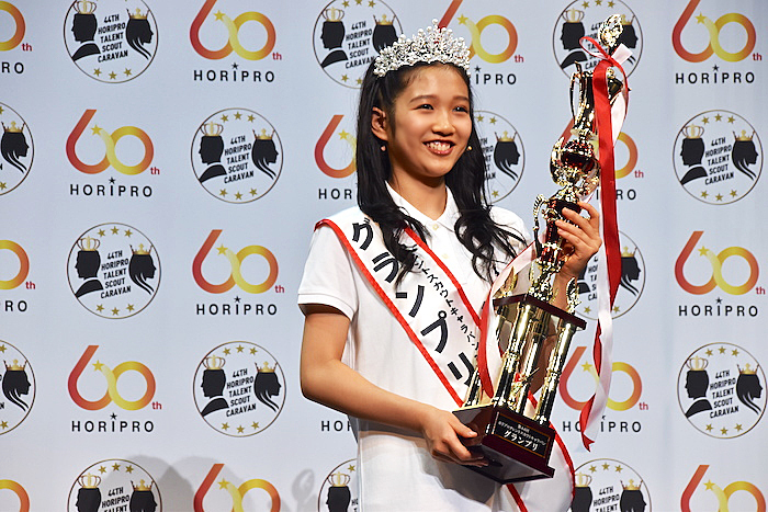 グランプリを受賞した山﨑玲奈さん  (撮影:五月女菜穂)