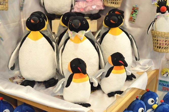 世界一のご長寿ペンギン「ぎん吉」くん ぬいぐるみ(2500円)