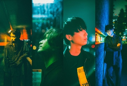indigo la End、モデルの高瀬真奈が出演する「夜風とハヤブサ」のMusic Videoが公開