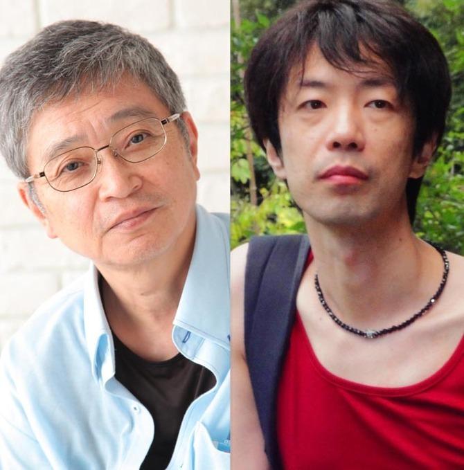 共に名古屋を拠点として活動する、劇作家の北村想と作家の諏訪哲史