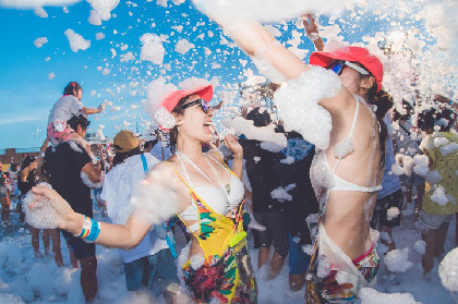 泡にまみれる夏はいかが? 『泡フェス祭-OSAKA BON 2018-』開催迫る