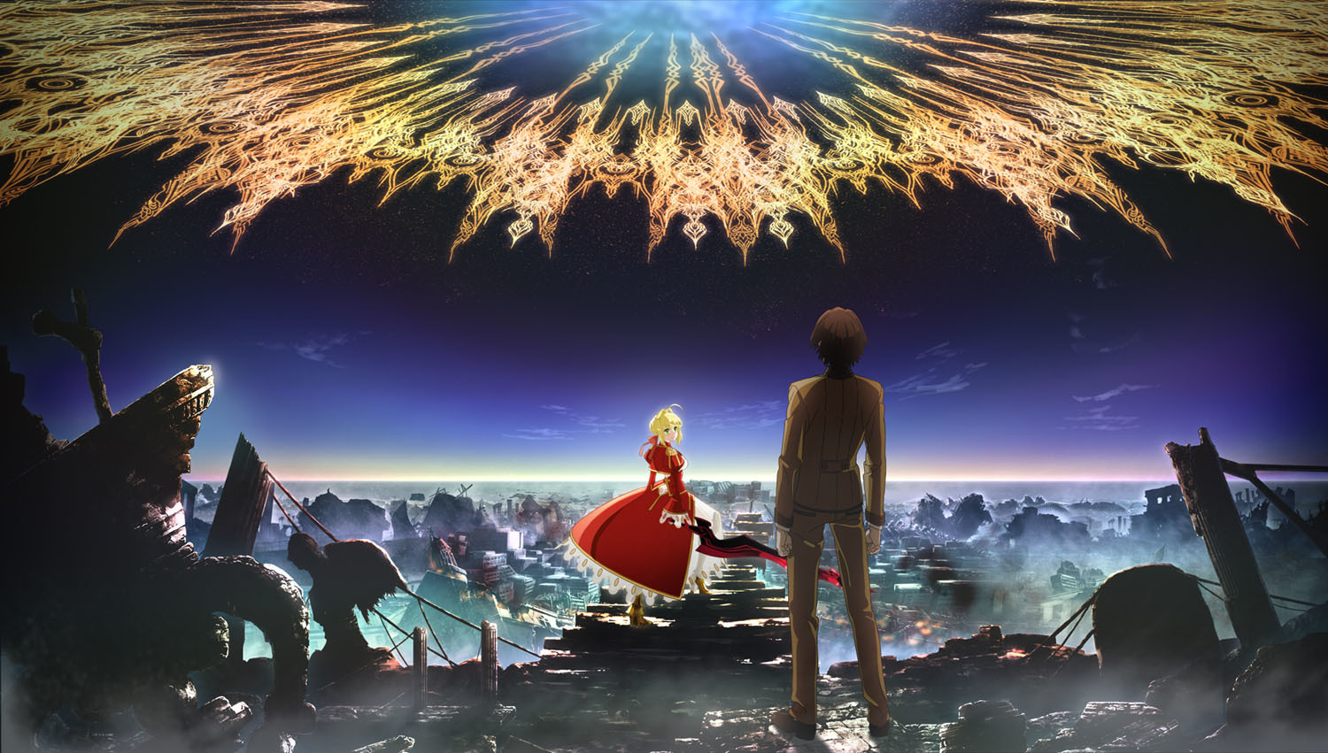 『Fate/EXTRA Last Encore』 © TYPE-MOON/Marvelous, Aniplex, Notes, SHAFT
