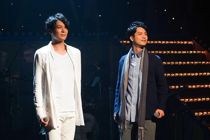 (左から)平方元基 田代万里生