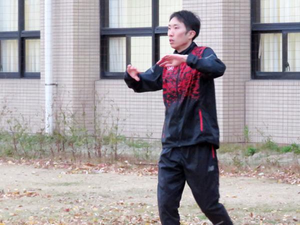 近藤監督が期待を込める太田黒卓(3年)。箱根ではチームに流れを作る重要な役目を任されそうだ