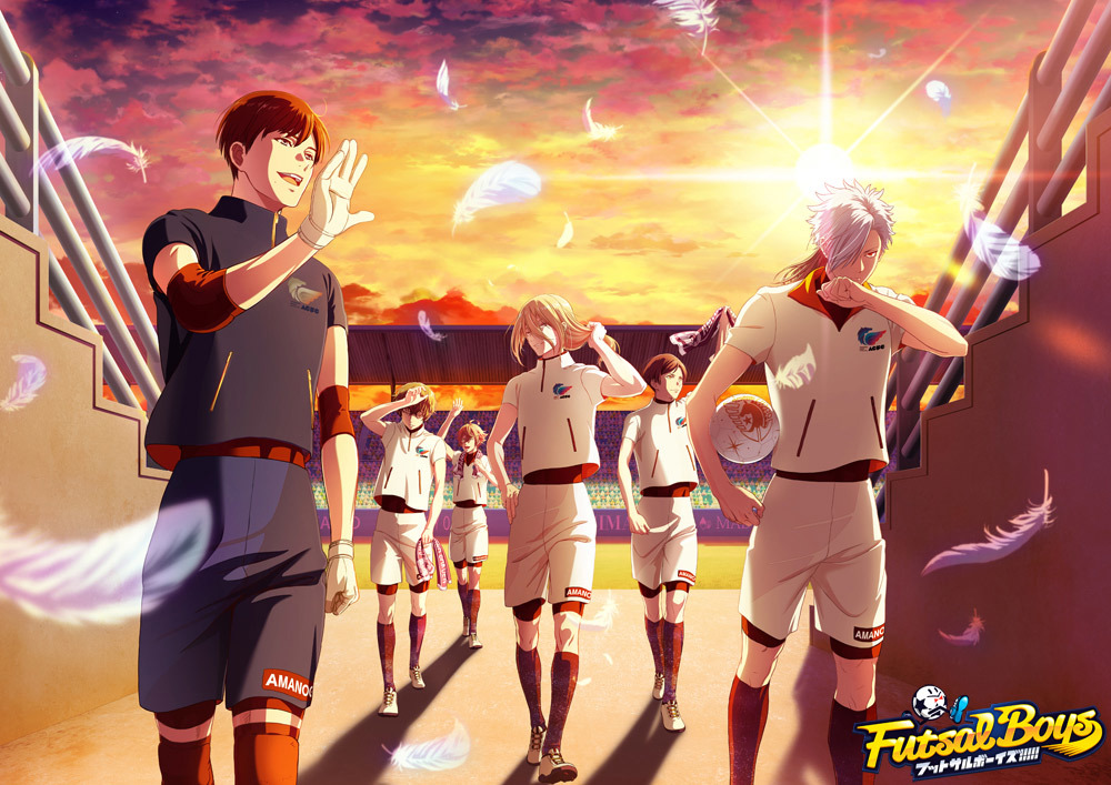 天ノ川学園キービジュアル (C)FUTSAL BOYS!!!!! ORIGINAL WORK