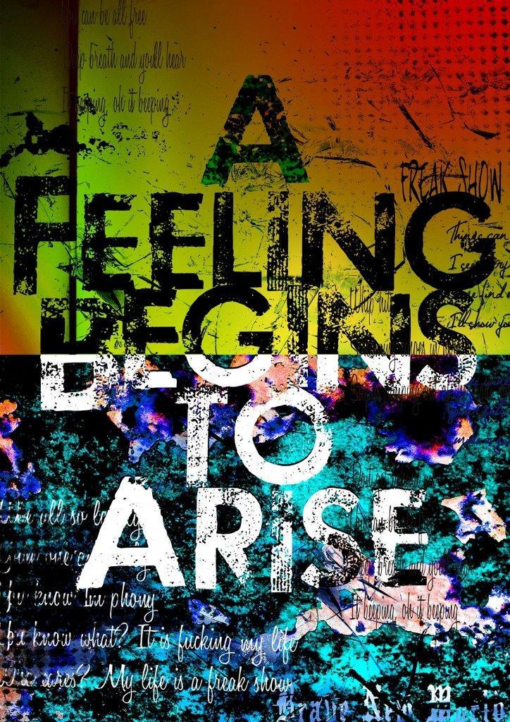 「A Feeling Begins to Arise」初回盤