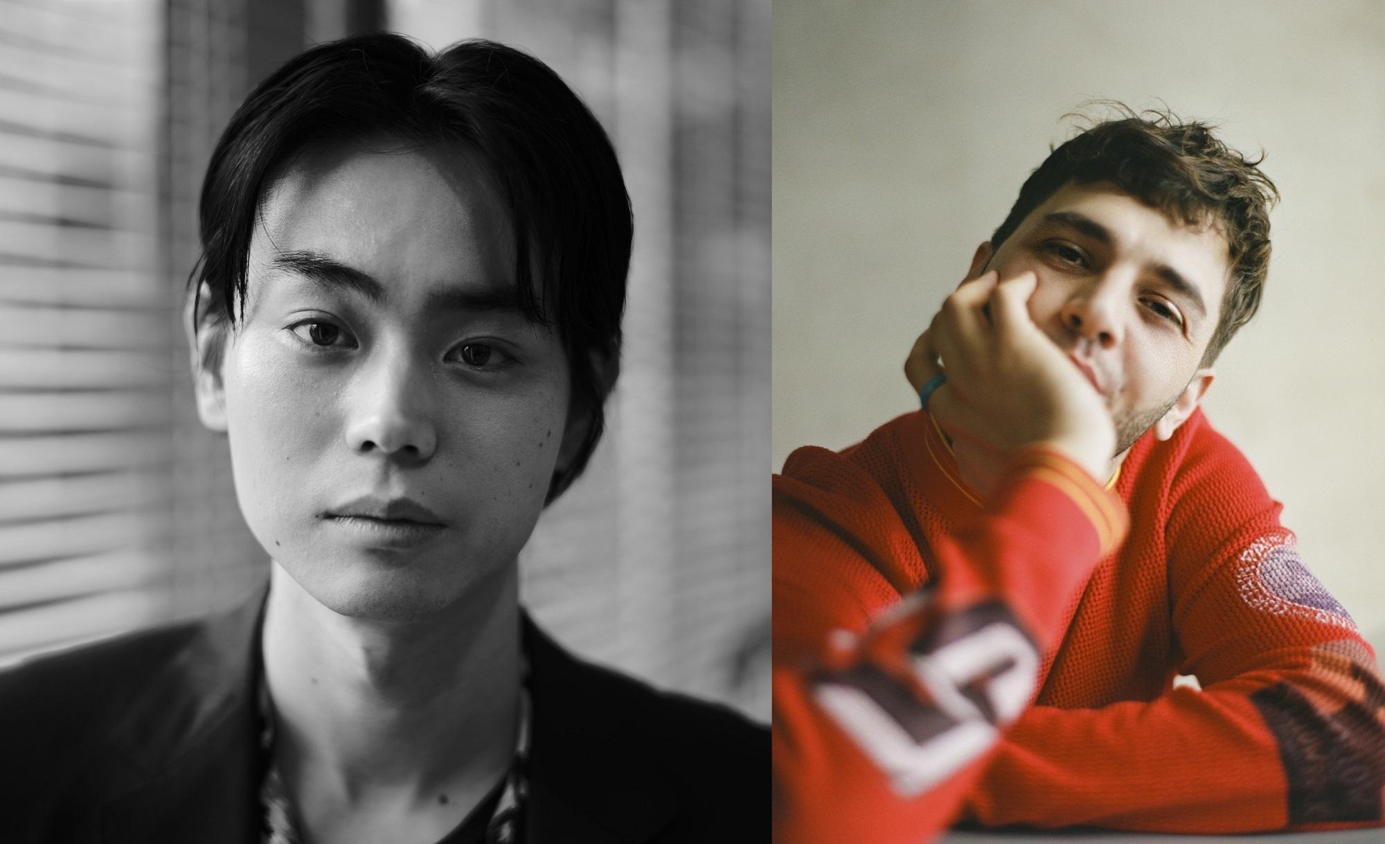 左から、菅田将暉、グザヴィエ・ドラン