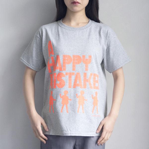 mintdesigns/Happy mistakeのメッセージTシャツ