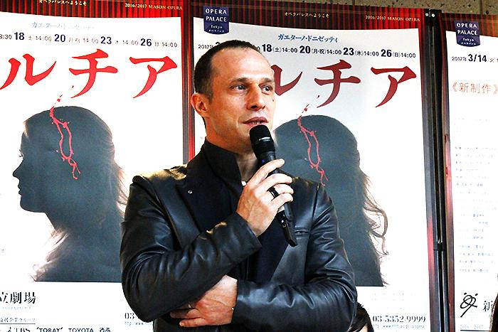 指揮者 ジャンパオロ・ビザンティ (撮影:西原朋未)