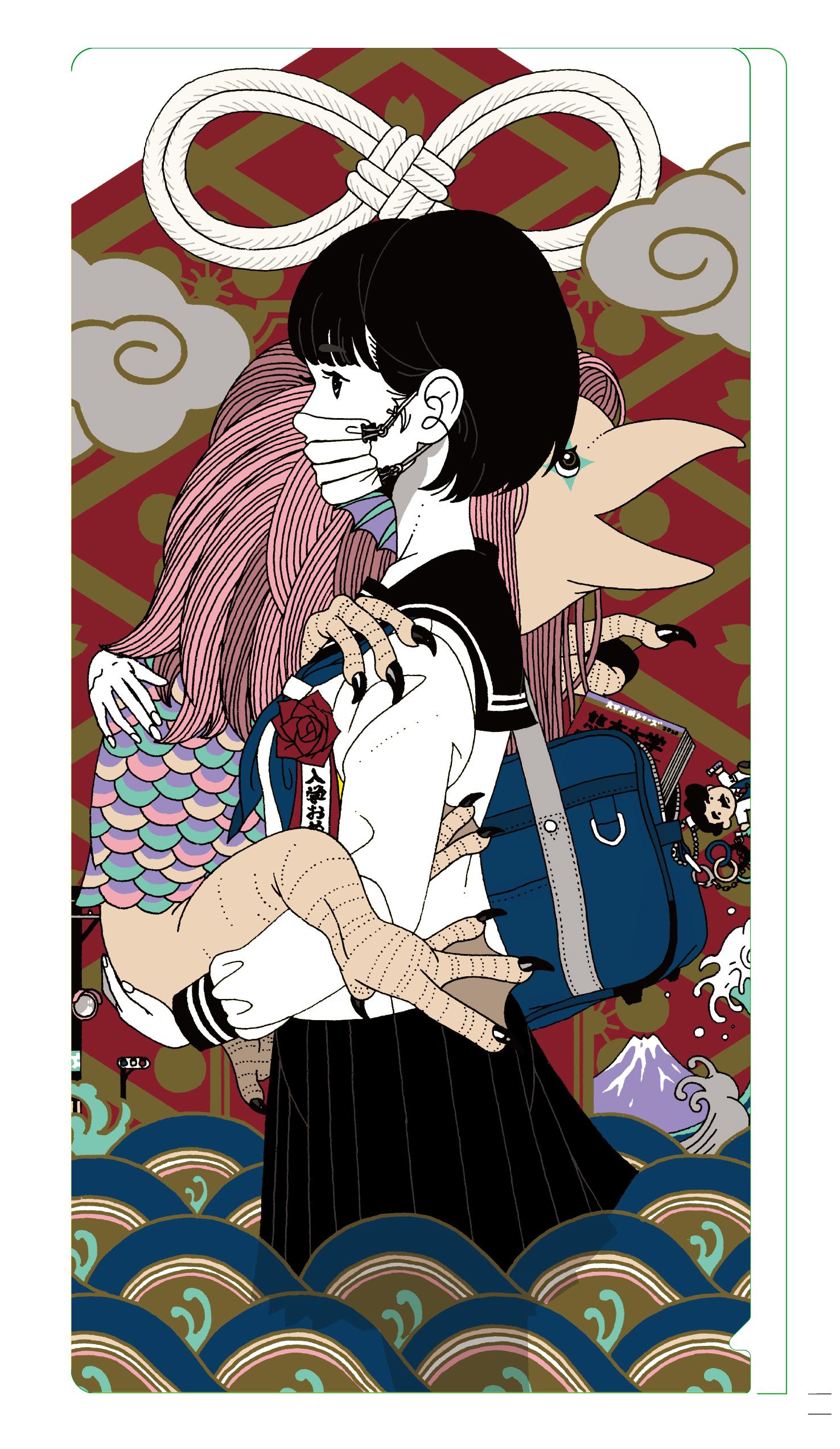 入館者特典「オリジナルマスクケース」 イメージ (実際とは異なる場合があります) (C)Yusuke Nakamura