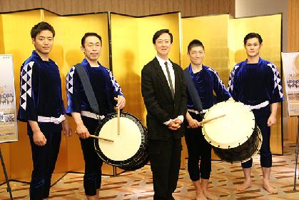坂東玉三郎が芸術監督を務める「鼓童」の35周年記念コンサート、今夏開幕