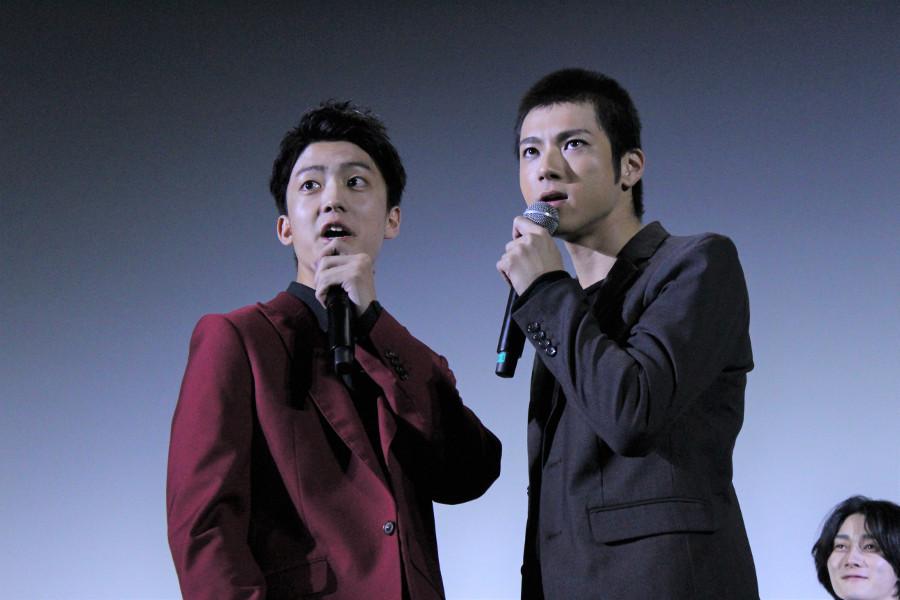 (左から)山田裕貴、健太郎
