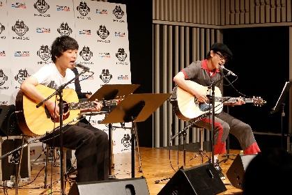 菅田将暉、『オールナイトニッポン』初の公開録音で石崎ひゅーいとライブパフォーマンス 「今日はデュオのつもりでやりましょう」