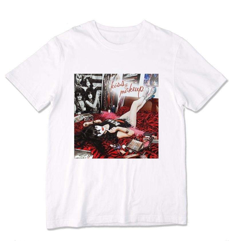 『KISS&MAKEUP』Tシャツ