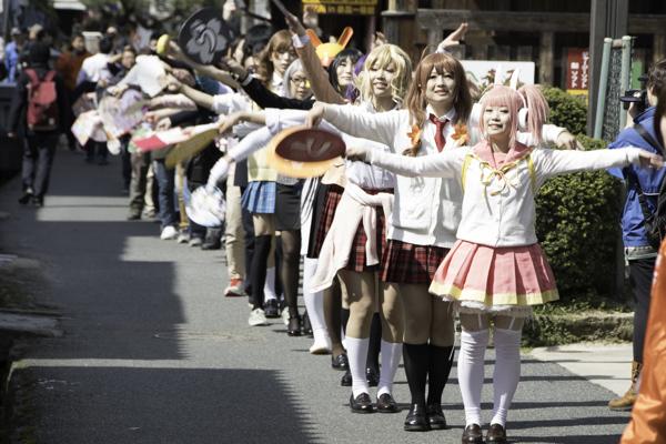 「倉野川音頭」で街を盛り上げる