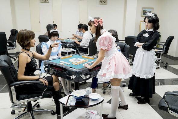『咲-Saki-』ドラマ第三話より  (C)小林 立/SQUARE ENIX・「咲」プロジェクト (C)Ritz Kobayashi/SQUARE ENIX