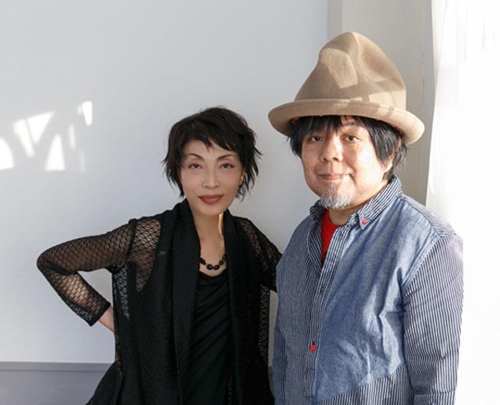 左:麻実れい 右:ケラリーノ・サンドロヴィッチ(撮影:坂野則幸)