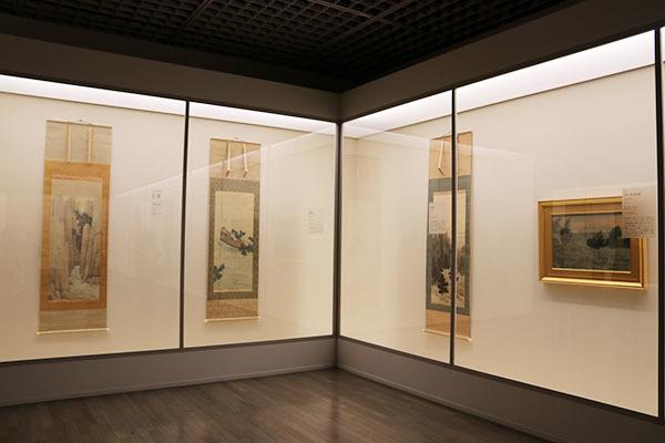 『生誕150年 横山大観展』展示風景