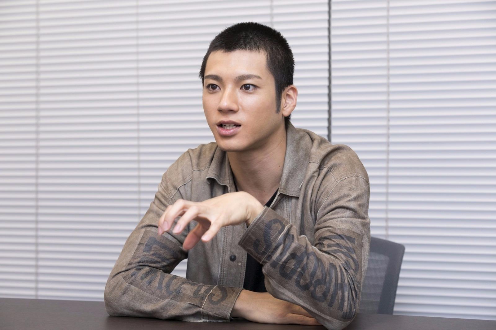 山田裕貴 撮影=鈴木久美子