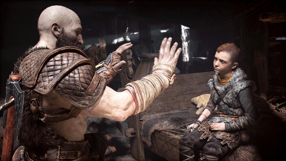 主人公クレイトスと息子アトレウスの物語にも注目。