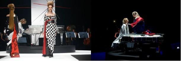 YOSHIKIMONO「Mercedes-Benz Fashion Week TOKYO 2016 S/S」の様子