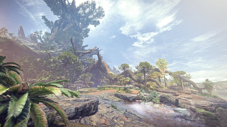 MONSTER HUNTER: WORLD(モンスターハンターワールド)/古代樹の森 ©CAPCOM CO., LTD. ALL RIGHTS RESERVED.