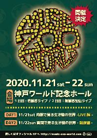 ライブハウス・太陽と虎の10周年記念イベントが、神戸ワールド記念ホールにて有観客ライブと無観客配信ライブの2DAYSで開催決定