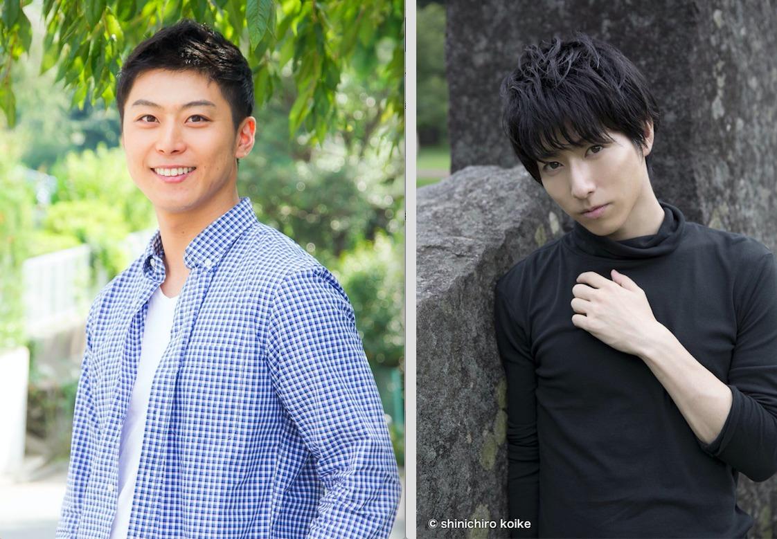 (左から)上田悠介、谷佳樹