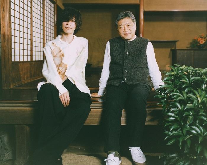 米津玄師×是枝裕和 カナリヤ対談写真