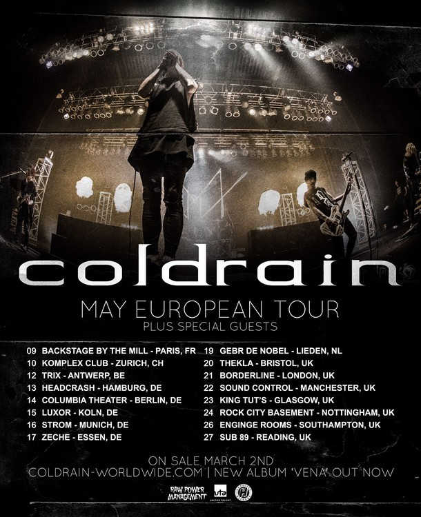 「MAY EUROPEAN TOUR」フライヤー