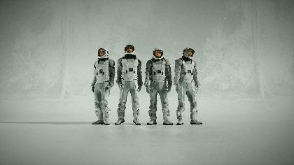 WONK 新曲「Rollin'」配信開始&宇宙服姿の新ビジュアル公開