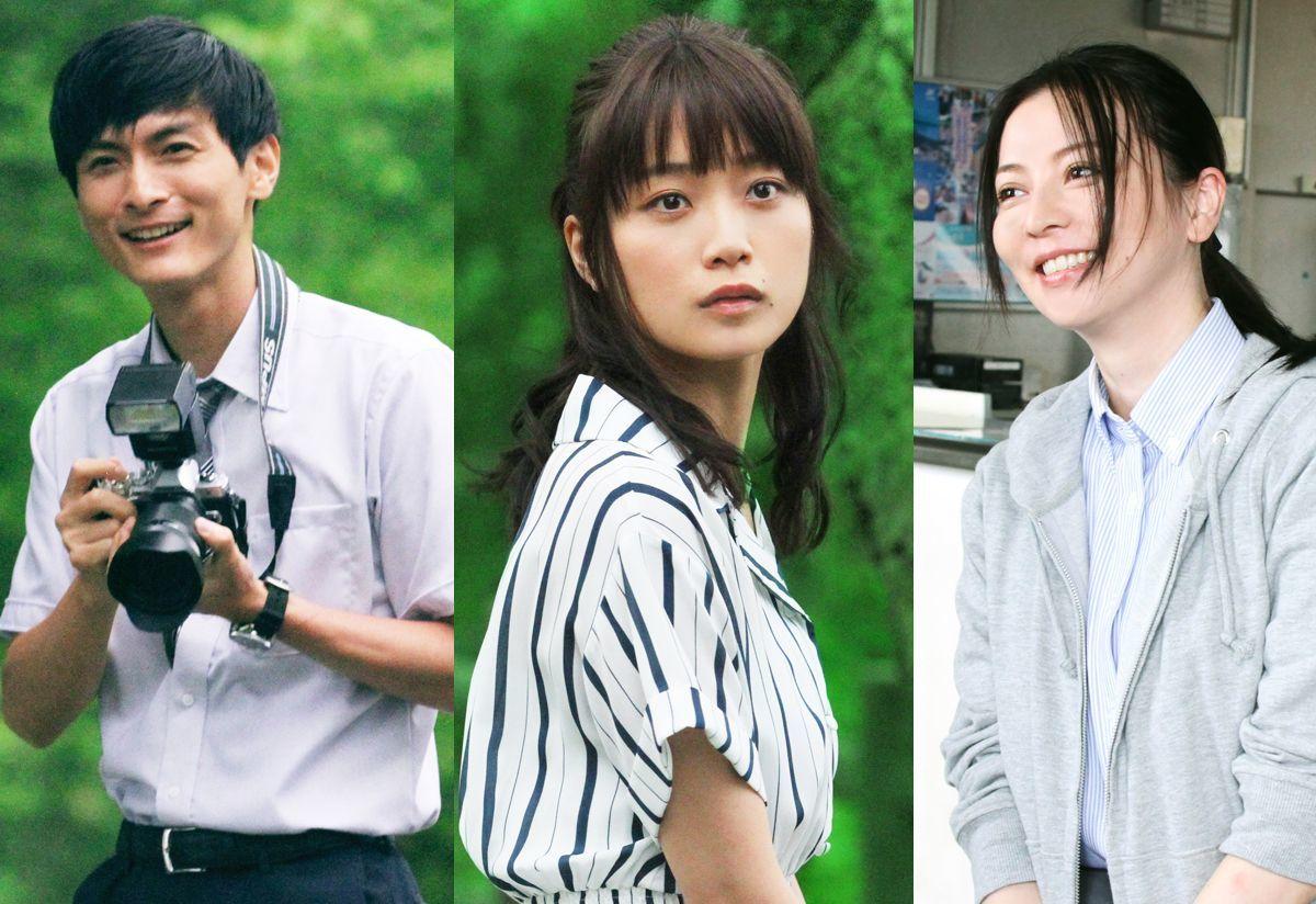 左から、高良健吾、深川麻衣、香里奈 (C)「おもいで写眞」製作委員会