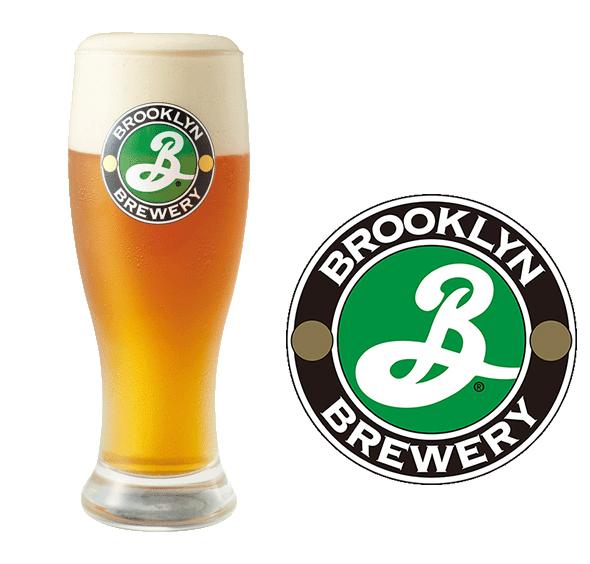「ブルックリンラガー」の樽生ビールを数量限定の350円で販売