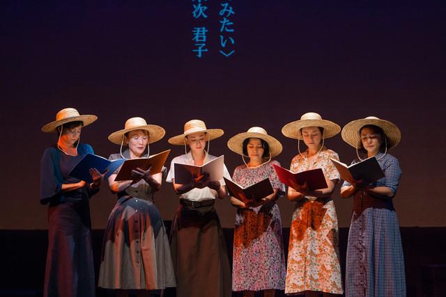 朗読劇「この子たちの夏 1945・ヒロシマ ナガサキ」過去公演より。