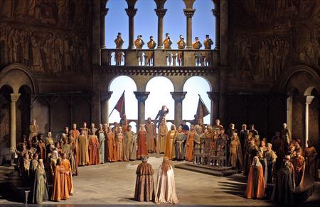 ワーグナー《タンホイザー》 (C)Marty Sohl / Metropolitan Opera