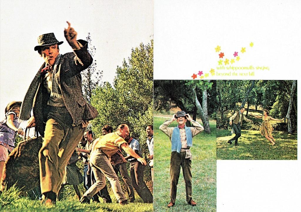 プログラム中面より、踊るアステア