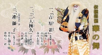 市川右團次、市川右近親子出演の『伝統芸能 華の舞』 延期公演が10月に決定