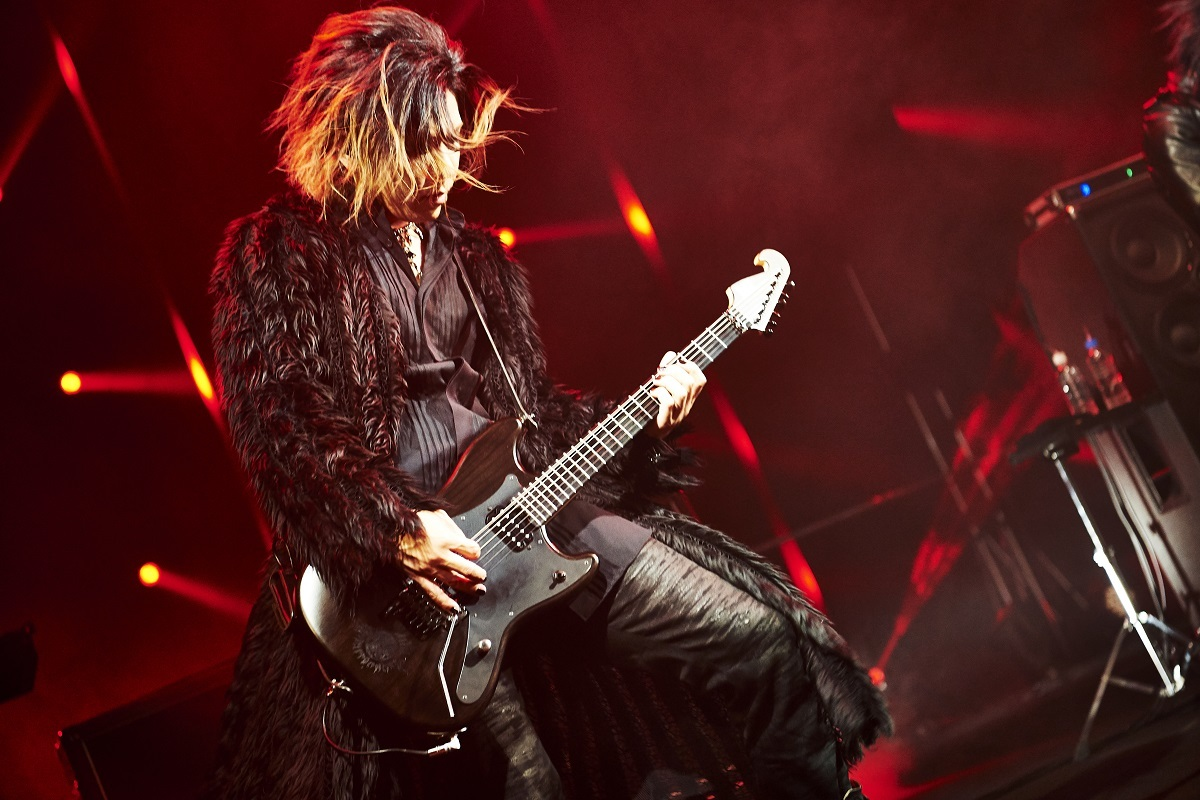 the GazettE/葵 撮影=Keiko Tanabe
