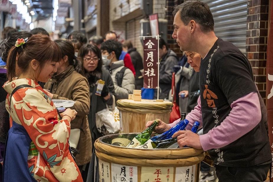 錦のうまいもんと京の日本酒祭り(昨年の様子)