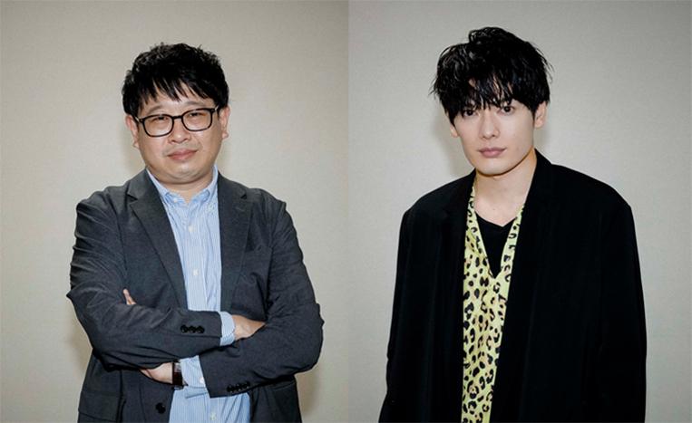 (左から)毛利亘宏、崎山つばさ
