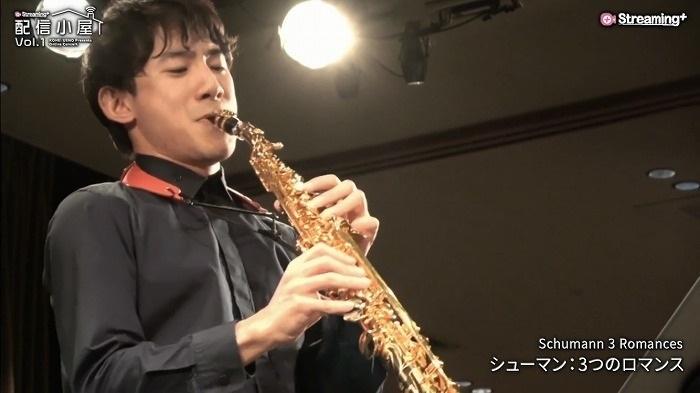 上野耕平がコロナ禍で始めたオンラインコンサート『配信小屋』シリーズ(Streaming+より提供)