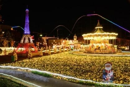 リサとガスパールタウンでクリスマスイベント開催中