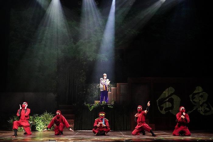 (C)尼子騒兵衛/NHK・NEP (C)ミュージカル「忍たま乱太郎」製作委員会(撮影:田中亜紀 )