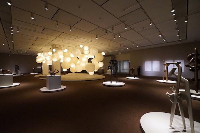 展示風景 (C)2021 The Isamu Noguchi Foundation and Garden Museum/ARS,NY/JASPAR,Tokyo E3713