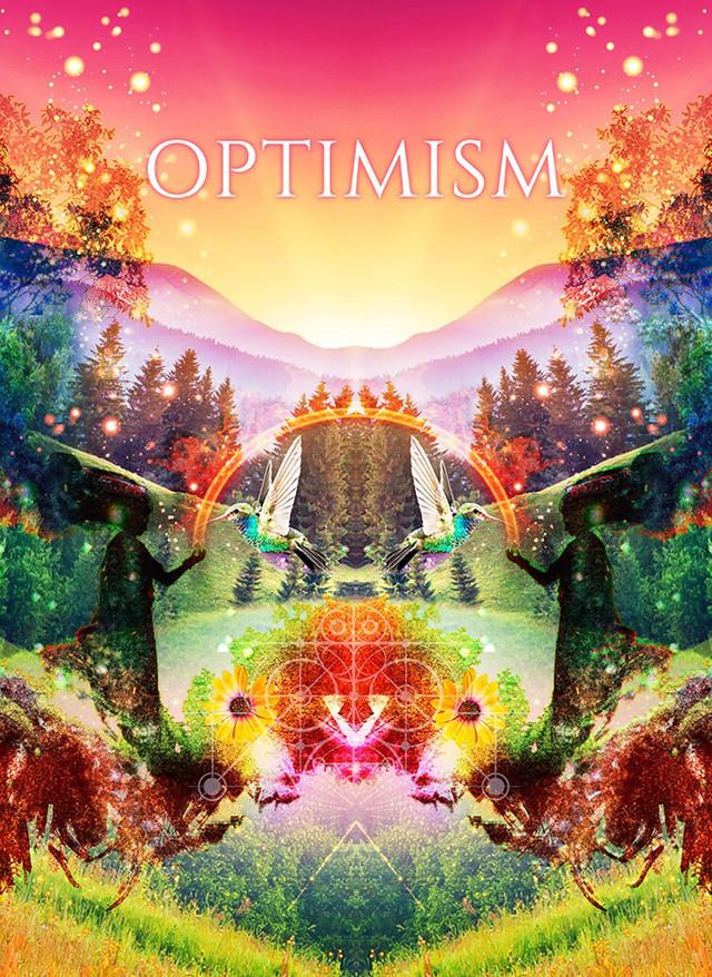 アブラクサス「OPTIMISM」チラシ表